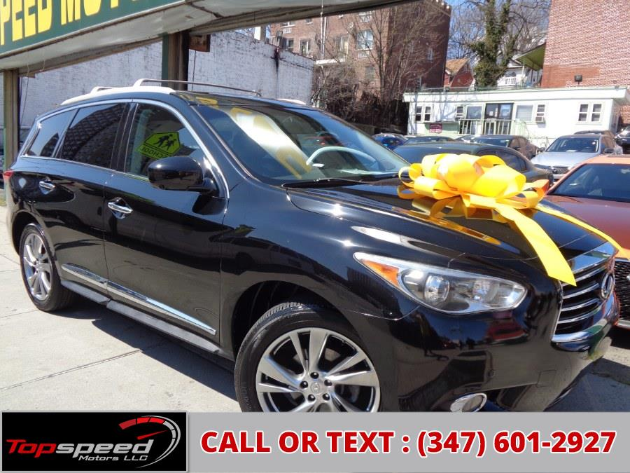 Used 2013 INFINITI JX35 in Jamaica, New York | Top Speed Motors LLC. Jamaica, New York