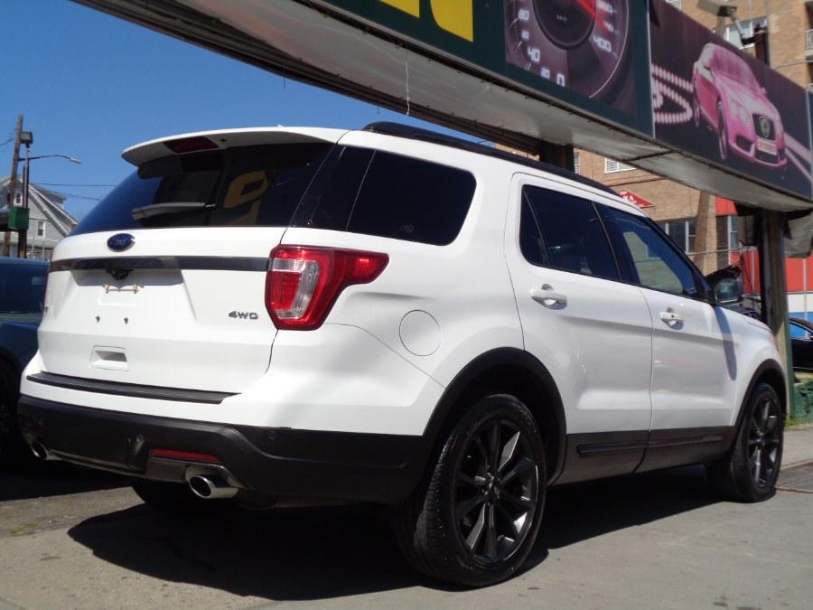Used Ford Explorer XLT 4WD W/Panoramic 2018 | Top Speed Motors LLC. Jamaica, New York