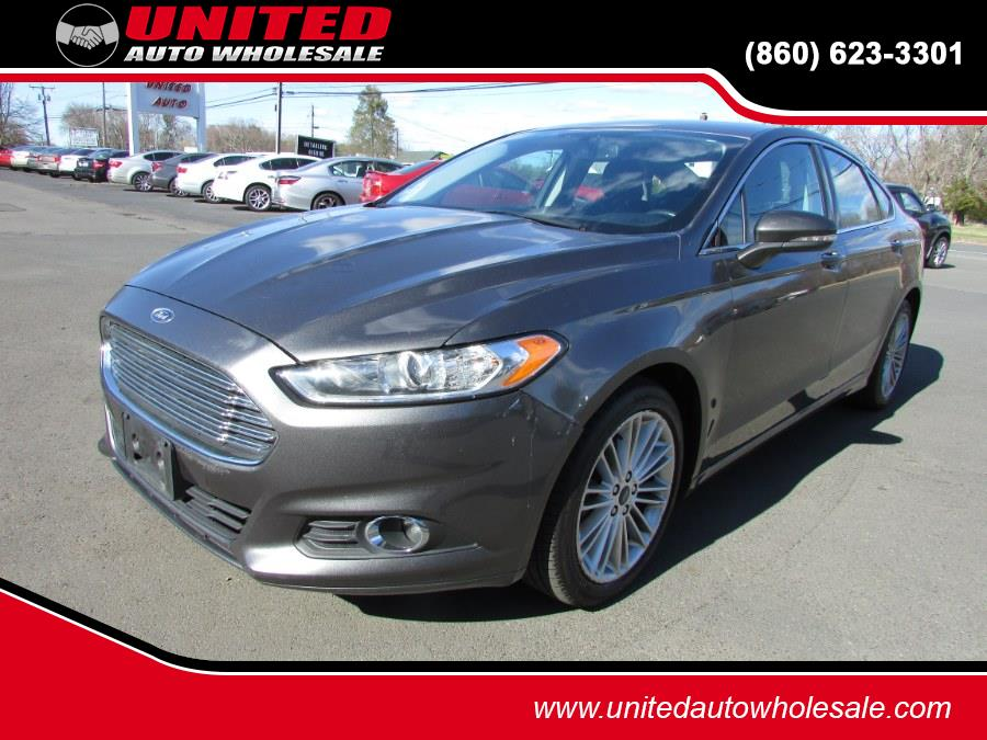 Used Ford Fusion 4dr Sdn SE AWD 2016 | United Auto Sales of E Windsor, Inc. East Windsor, Connecticut