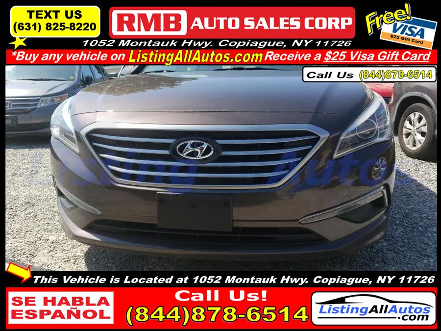 Used 2015 Hyundai Sonata in Patchogue, New York | www.ListingAllAutos.com. Patchogue, New York