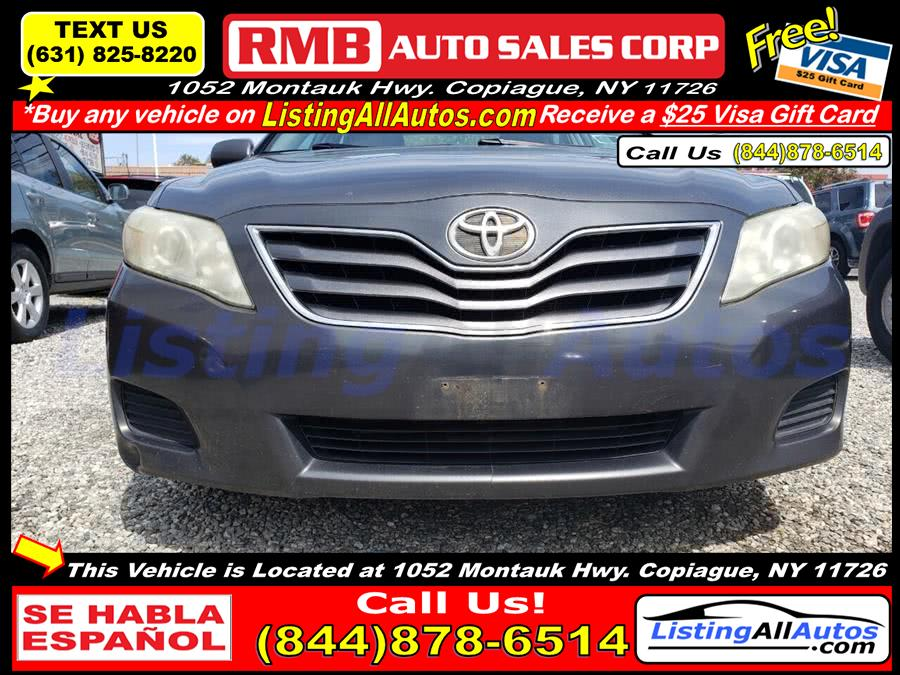 Used Toyota Camry LE 4dr Sedan 6A 2010 | www.ListingAllAutos.com. Patchogue, New York