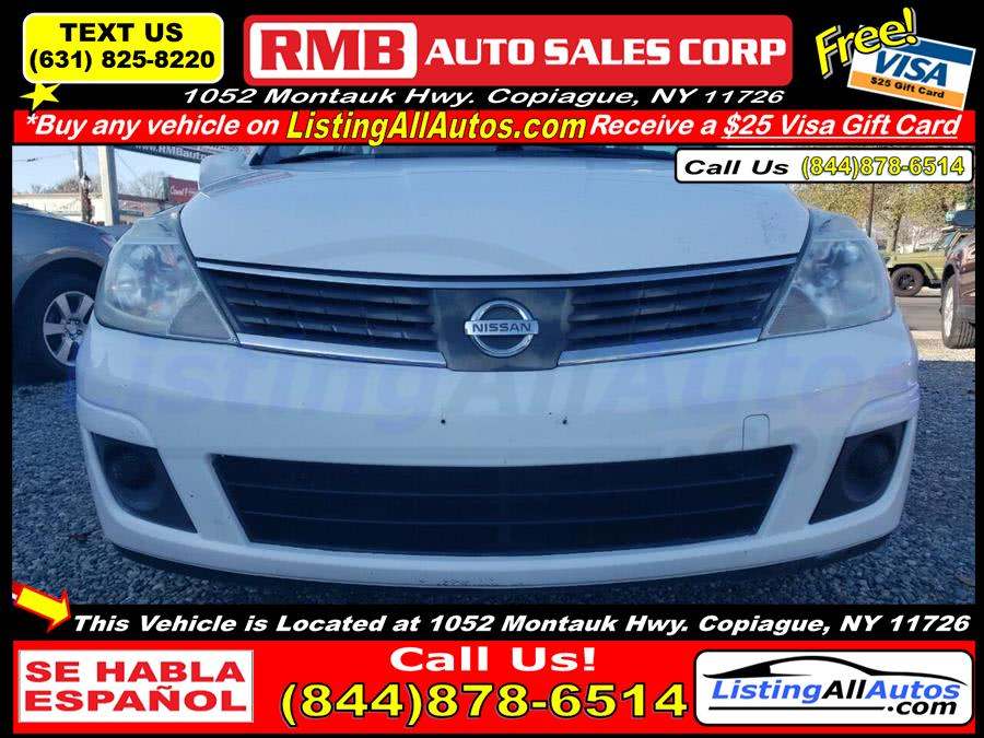 Used Nissan Versa 1.8 S 4dr Hatchback 4A 2009 | www.ListingAllAutos.com. Patchogue, New York