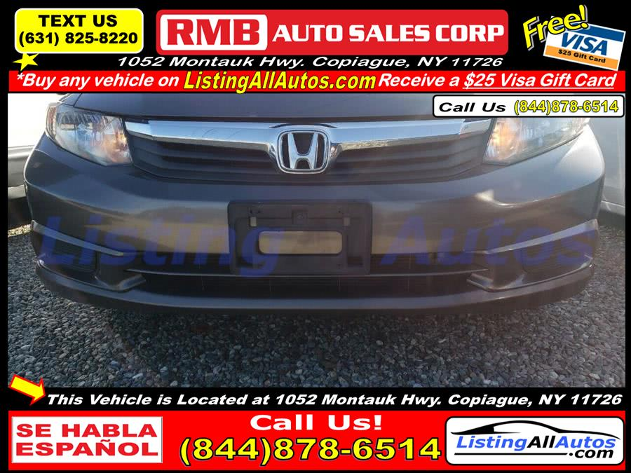Used 2012 Honda Civic in Patchogue, New York | www.ListingAllAutos.com. Patchogue, New York