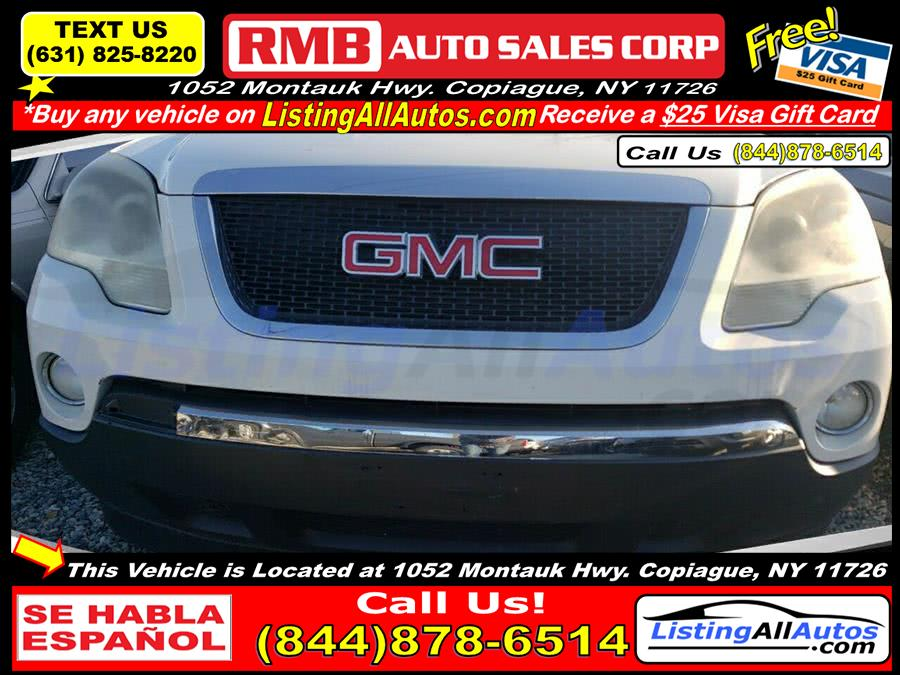 Used GMC Acadia SLE 1 4dr SUV 2009 | www.ListingAllAutos.com. Patchogue, New York