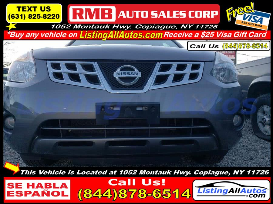 Used Nissan Rogue SV w/SL Package AWD 4dr Crossover 2012 | www.ListingAllAutos.com. Patchogue, New York