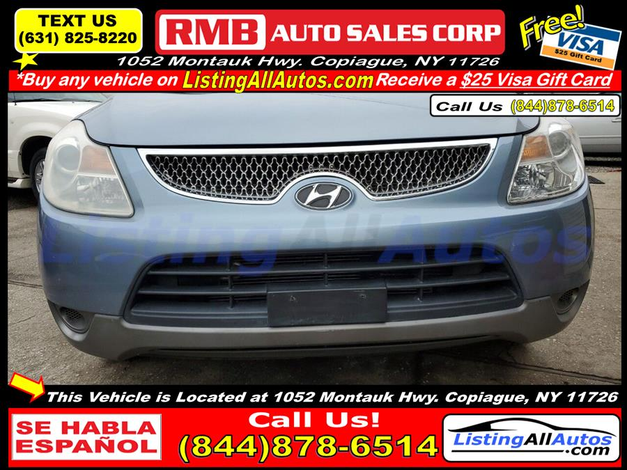Used Hyundai Veracruz GLS AWD 4dr Crossover 2008 | www.ListingAllAutos.com. Patchogue, New York
