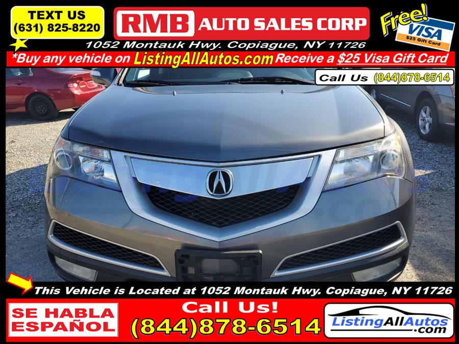Used 2010 Acura Mdx in Patchogue, New York | www.ListingAllAutos.com. Patchogue, New York