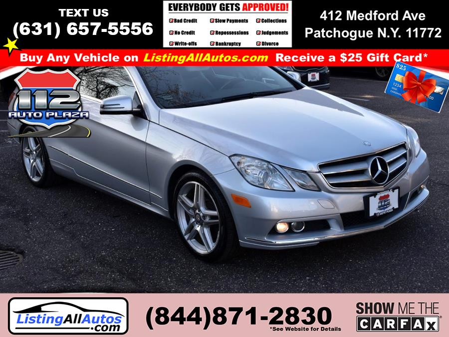 Used 2011 Mercedes-benz E-class in Patchogue, New York | www.ListingAllAutos.com. Patchogue, New York