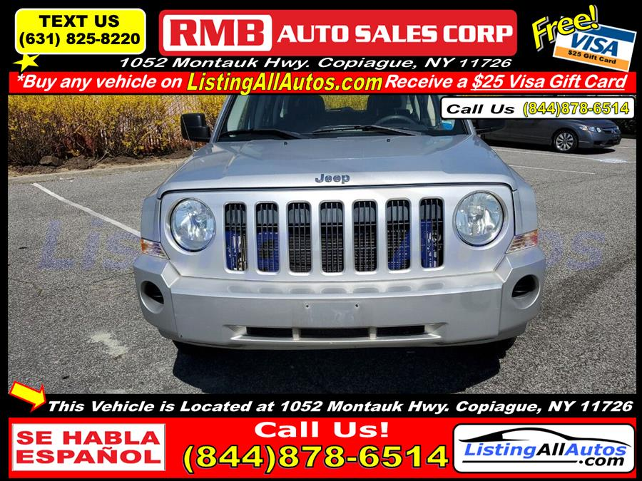 Used Jeep Patriot Sport 4dr SUV w/CJ1 Side Airbag Package 2008 | www.ListingAllAutos.com. Patchogue, New York