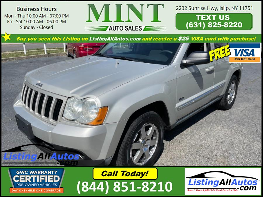 Used 2009 Jeep Grand Cherokee in Patchogue, New York | www.ListingAllAutos.com. Patchogue, New York