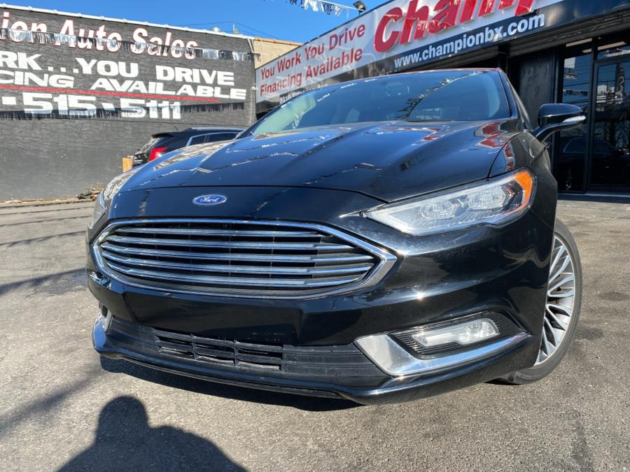 Used 2017 Ford Fusion in Bronx, New York | Champion Auto Sales. Bronx, New York