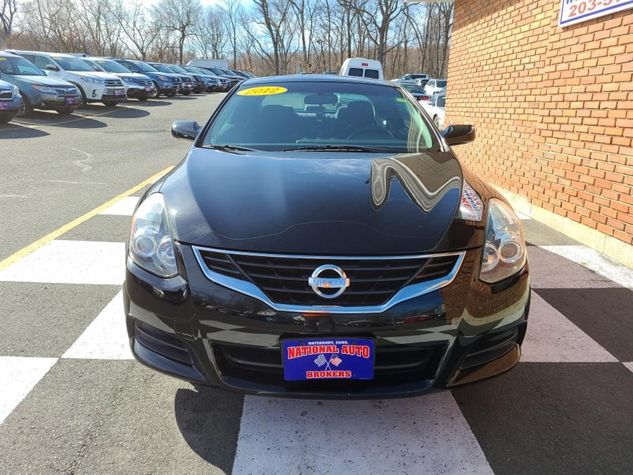 Used Nissan Altima 2dr Cpe 2.5 S 2012 | National Auto Brokers, Inc.. Waterbury, Connecticut