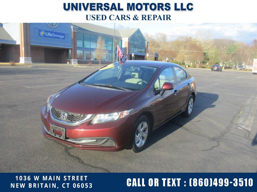 Used Honda Civic Sdn 4dr Auto LX 2013 | Universal Motors LLC. New Britain, Connecticut