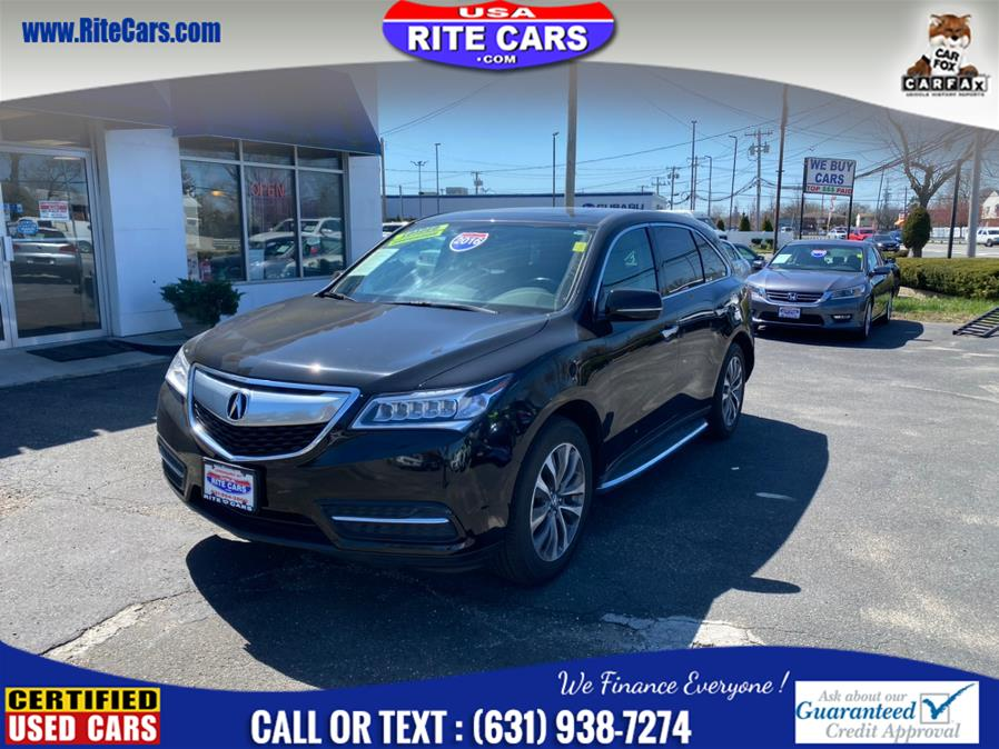 Used 2016 Acura MDX in Lindenhurst, New York | Rite Cars, Inc. Lindenhurst, New York