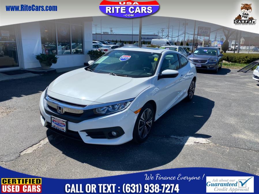 Used 2017 Honda Civic Coupe in Lindenhurst, New York | Rite Cars, Inc. Lindenhurst, New York
