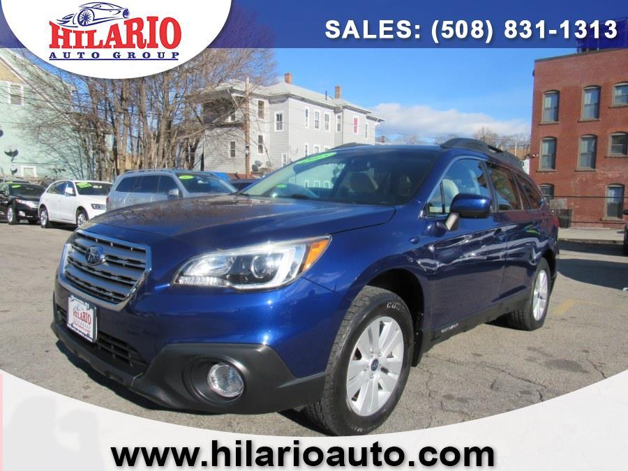 Used Subaru Outback 4dr Wgn 2.5i Premium PZEV 2015 | Hilario's Auto Sales Inc.. Worcester, Massachusetts
