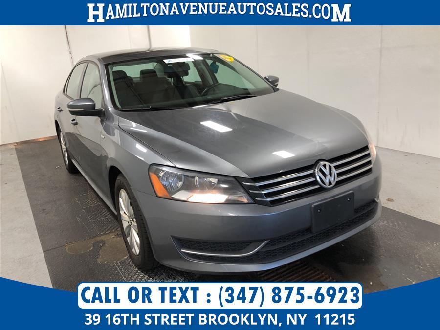 Used Volkswagen Passat 4dr Sdn 1.8T Auto Wolfsburg Ed PZEV *Ltd Avail* 2015 | Hamilton Avenue Auto Sales DBA Nyautoauction.com. Brooklyn, New York