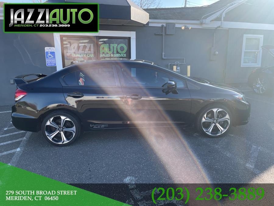 Used Honda Civic Sedan 4dr Man Si w/Navi 2014 | Jazzi Auto Sales LLC. Meriden, Connecticut