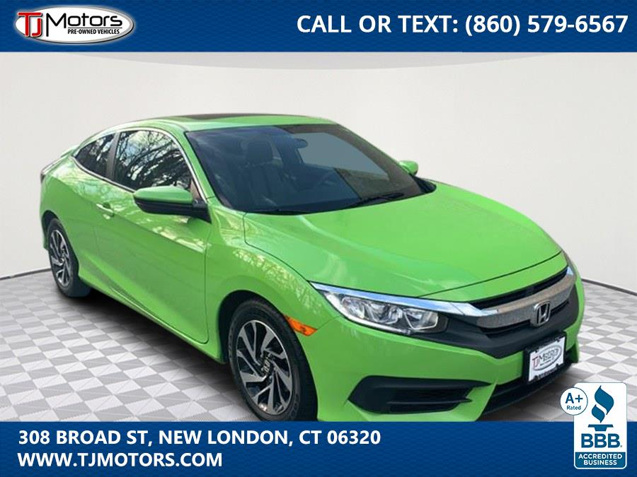 Used 2017 Honda Civic Coupe in New London, Connecticut | TJ Motors. New London, Connecticut