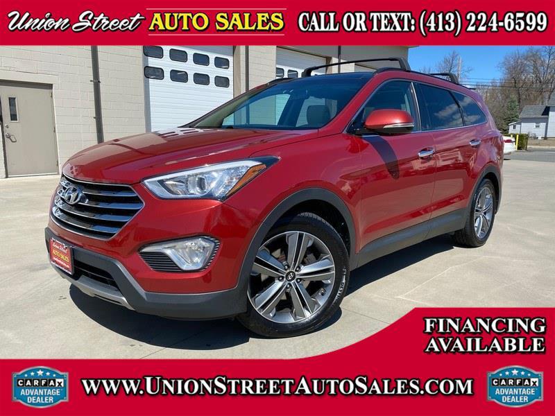 Used Hyundai Santa Fe AWD 4dr Limited 2016 | Union Street Auto Sales. West Springfield, Massachusetts
