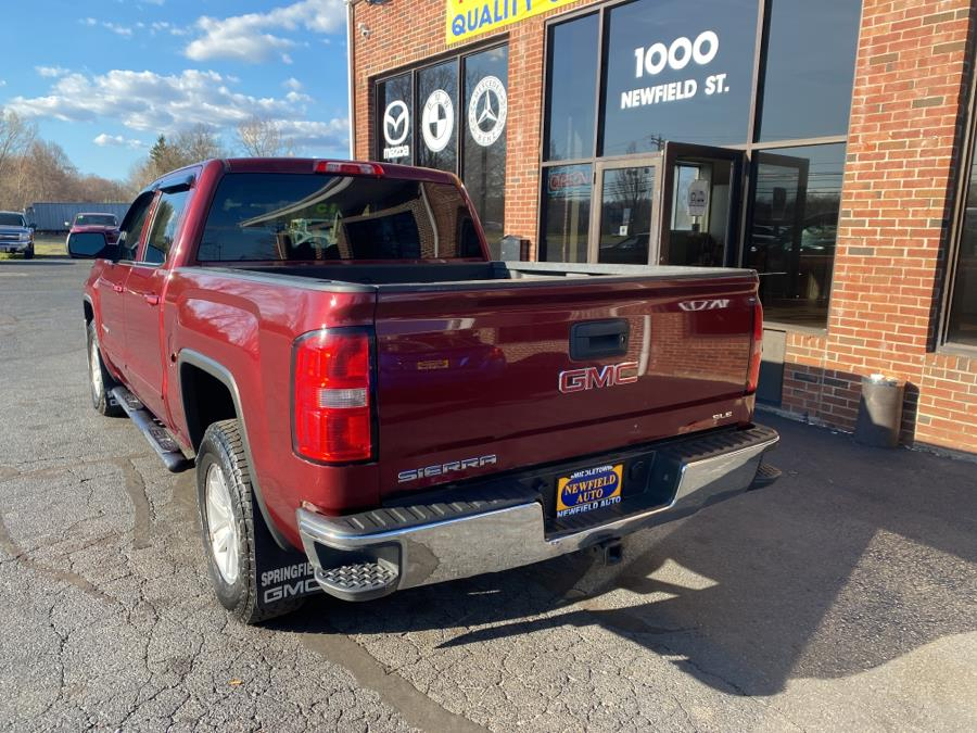 """Used GMC Sierra 1500 4WD Crew Cab 143.5"""" SLE 2015 