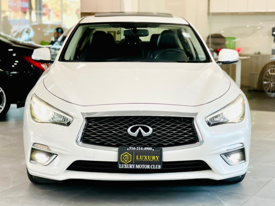 Used INFINITI Q50 3.0t LUXE AWD 2018   Luxury Motor Club. Franklin Square, New York