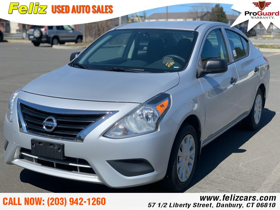 Used 2015 Nissan Versa in Danbury, Connecticut | Feliz Used Auto Sales. Danbury, Connecticut