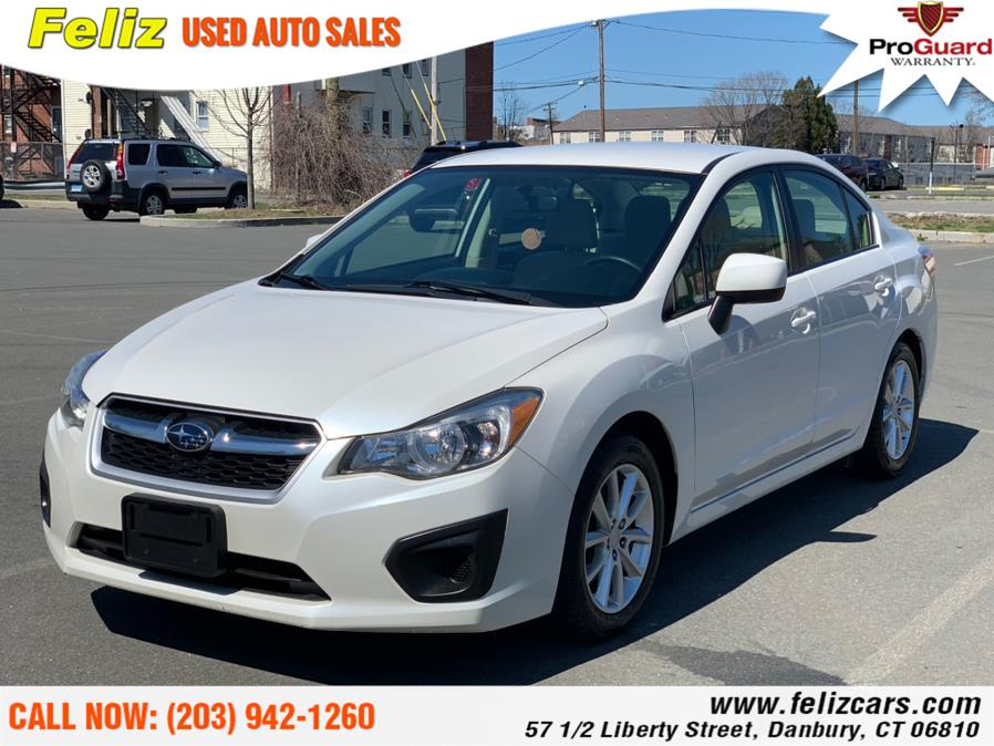 Used 2013 Subaru Impreza Sedan in Danbury, Connecticut | Feliz Used Auto Sales. Danbury, Connecticut