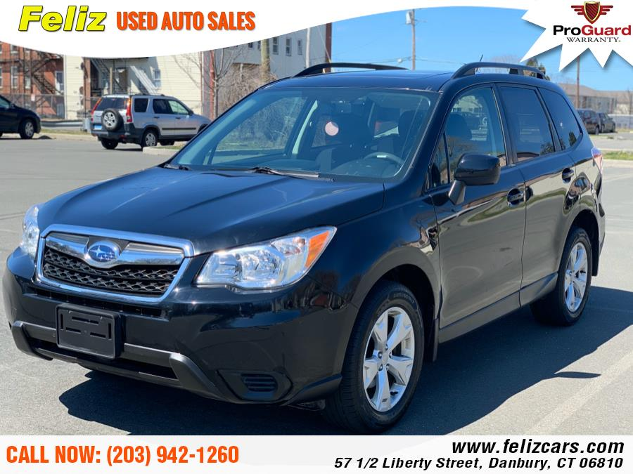 Used 2015 Subaru Forester in Danbury, Connecticut | Feliz Used Auto Sales. Danbury, Connecticut