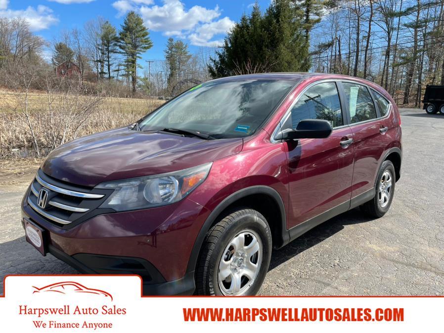 Used Honda CR-V AWD 5dr LX 2013   Harpswell Auto Sales Inc. Harpswell, Maine