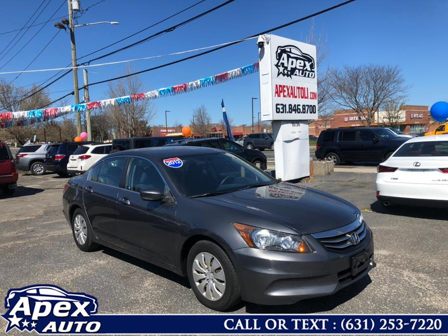 Used 2012 Honda Accord Sdn in Selden, New York | Apex Auto. Selden, New York