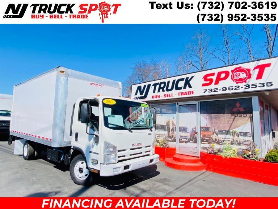 Used Isuzu NPR HD DSL REG AT 16 FEET DRY BOX + LIFT GATE + NO CDL 2013   NJ Truck Spot. South Amboy, New Jersey