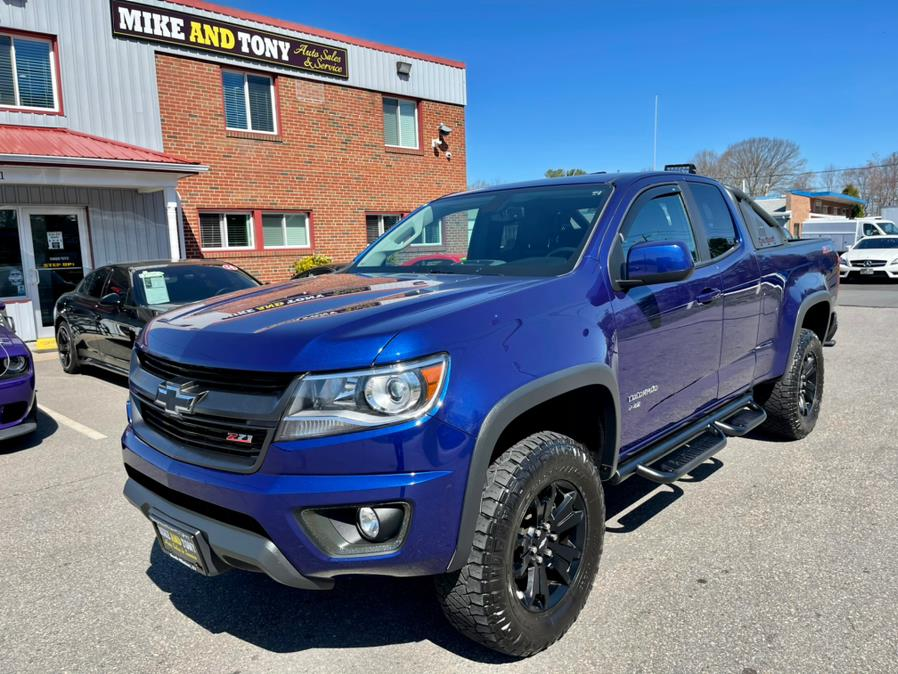 """Used Chevrolet Colorado 4WD Ext Cab 128.3"""" Z71 2016 