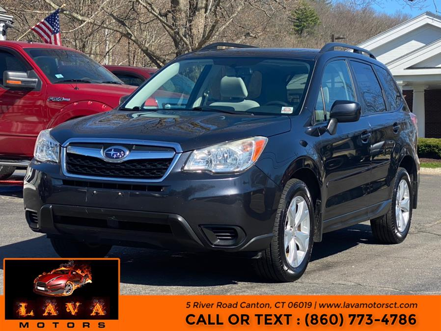 Used 2014 Subaru Forester in Canton, Connecticut | Lava Motors. Canton, Connecticut