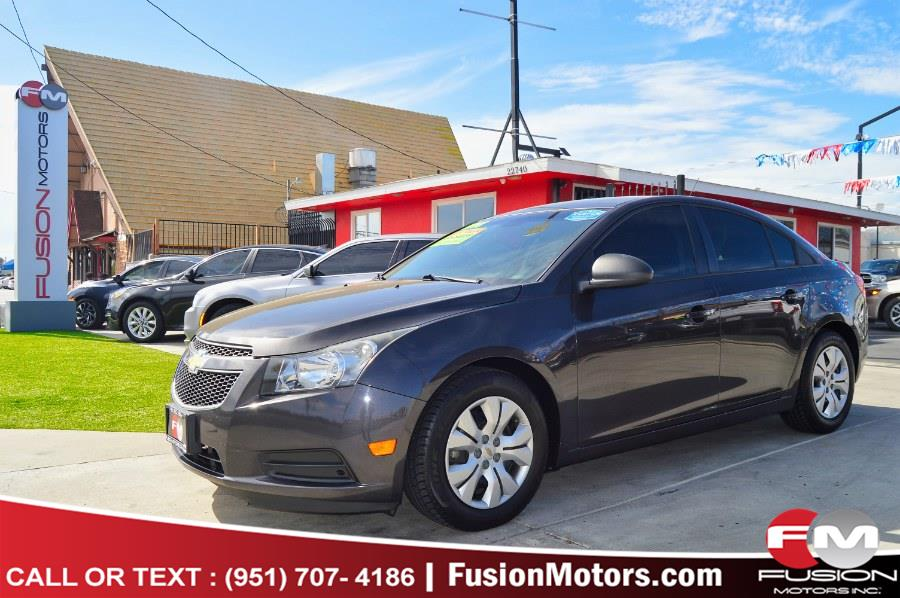 Used Chevrolet Cruze 4dr Sdn Auto LS 2014 | Fusion Motors Inc. Moreno Valley, California