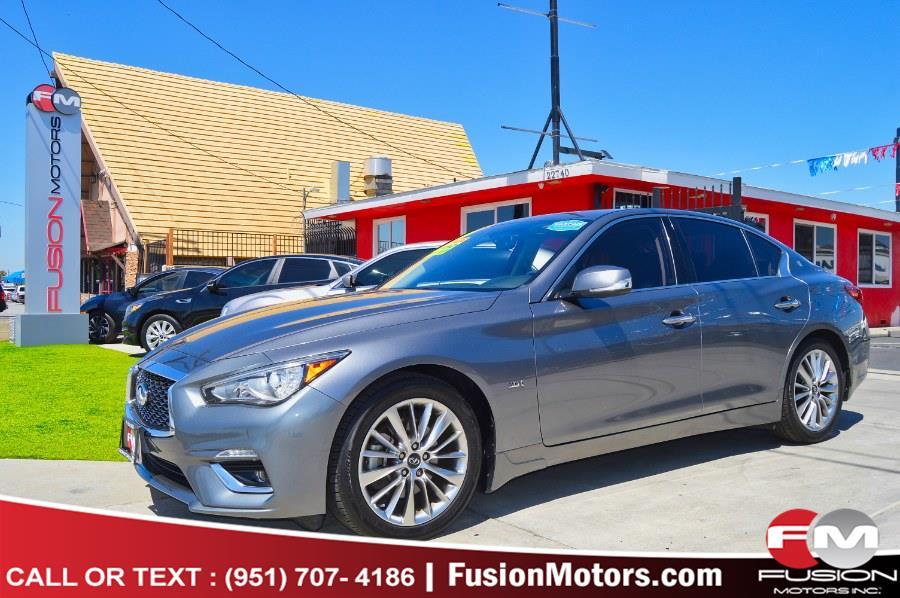 Used 2018 INFINITI Q50 in Moreno Valley, California   Fusion Motors Inc. Moreno Valley, California