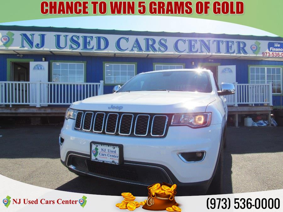Used Jeep Grand Cherokee Limited 4x4 2017 | NJ Used Cars Center. Irvington, New Jersey