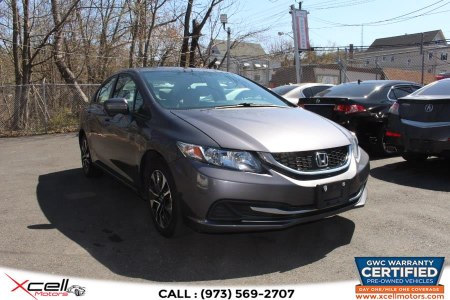 Used Honda Civic Sedan 4dr CVT EX 2014 | Xcell Motors LLC. Paterson, New Jersey