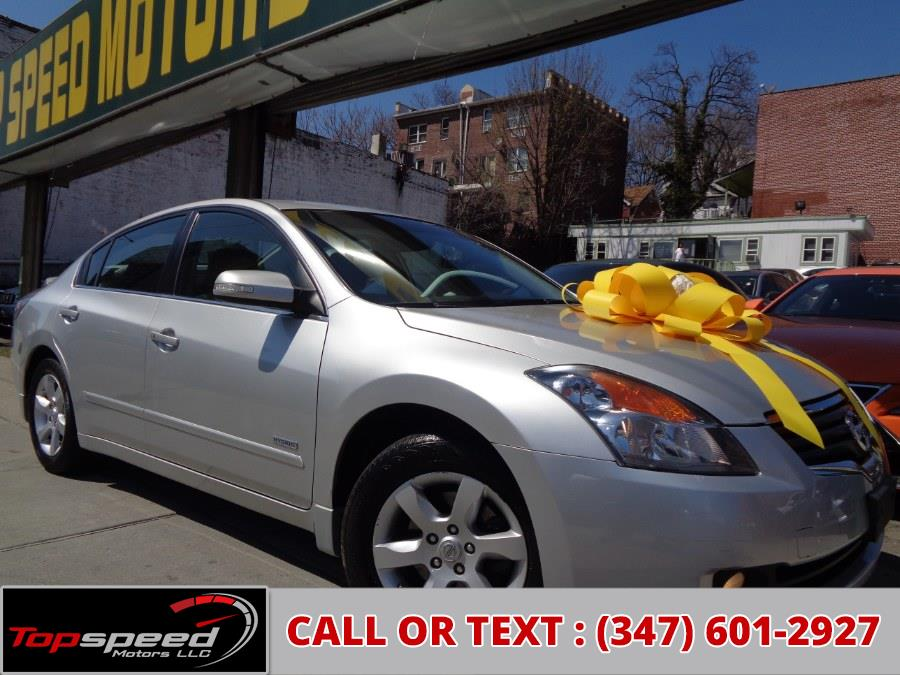 Used Nissan Altima 4dr Sdn I4 eCVT Hybrid 2009 | Top Speed Motors LLC. Jamaica, New York