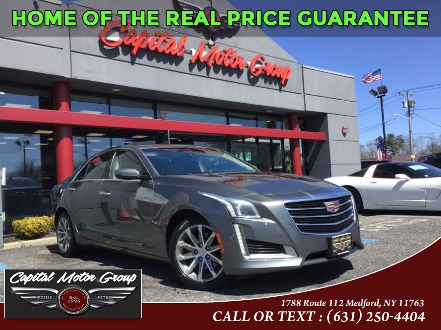 Used Cadillac CTS Sedan 4dr Sdn 2.0L Turbo Luxury Collection AWD 2016 | Capital Motor Group Inc. Medford, New York