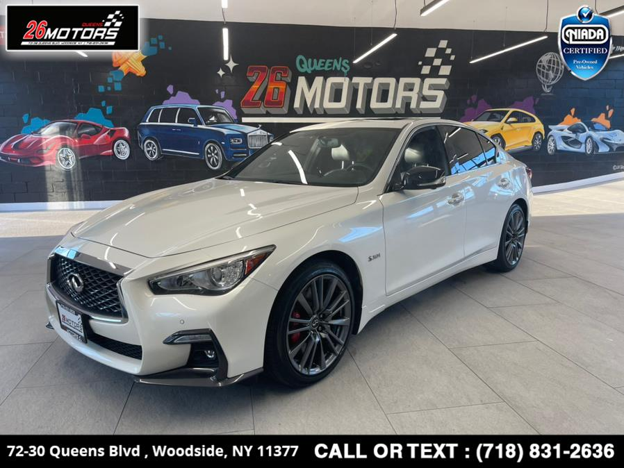 Used 2018 INFINITI Q50 in Woodside, New York | 26 Motors Queens. Woodside, New York
