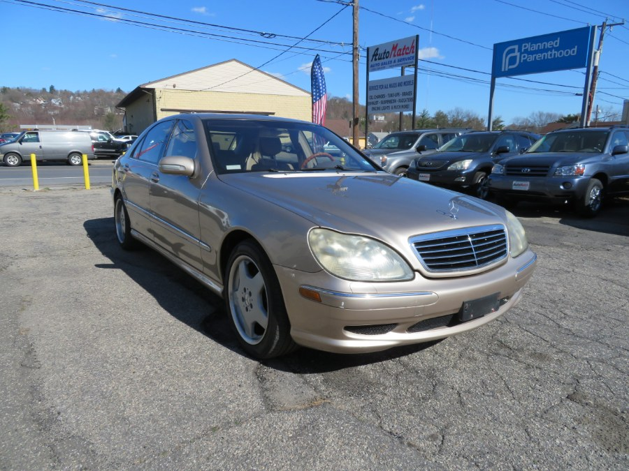 Used Mercedes-Benz S-Class 4dr Sdn 4.3L 2002 | Auto Match LLC. Waterbury, Connecticut