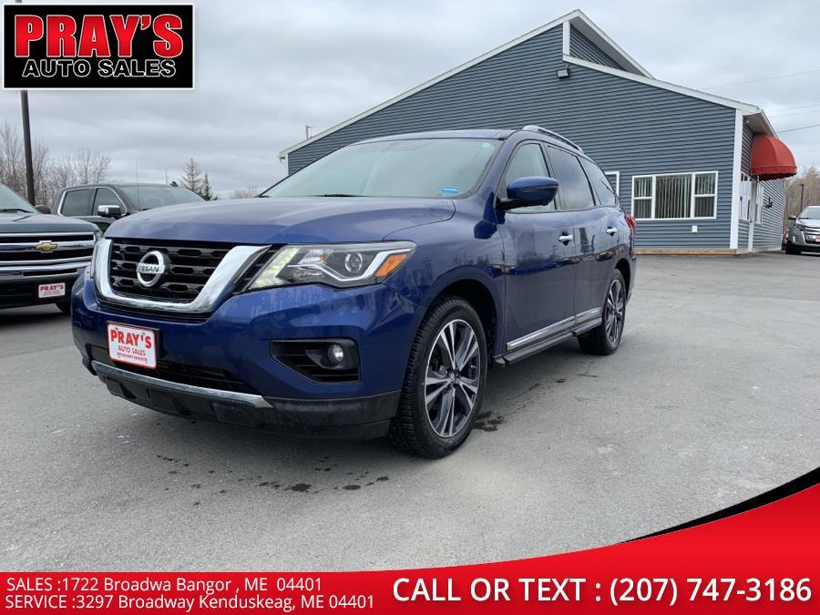 Used 2017 Nissan Pathfinder in Bangor , Maine | Pray's Auto Sales . Bangor , Maine