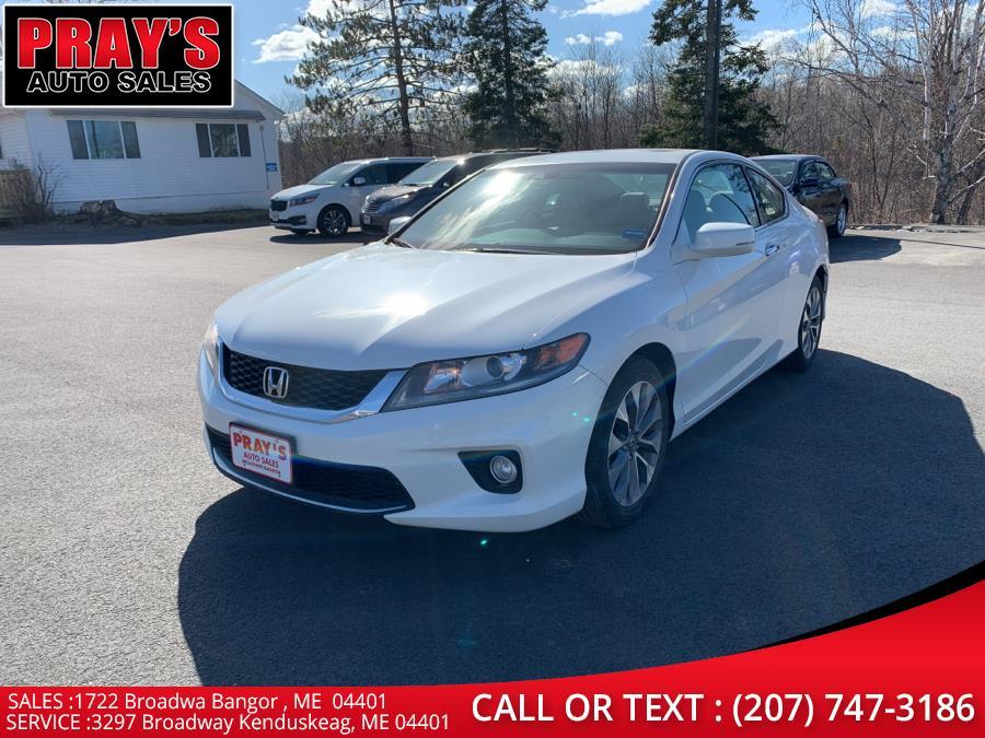 Used 2013 Honda Accord Cpe in Bangor , Maine | Pray's Auto Sales . Bangor , Maine