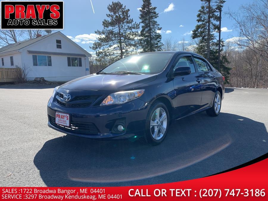 Used 2012 Toyota Corolla in Bangor , Maine | Pray's Auto Sales . Bangor , Maine
