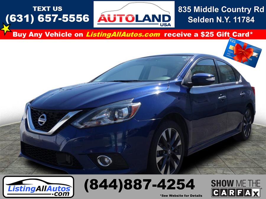 Used Nissan Sentra SR 2016 | www.ListingAllAutos.com. Patchogue, New York