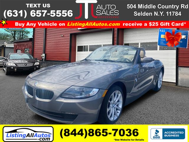 Used 2008 BMW Z4 in Patchogue, New York | www.ListingAllAutos.com. Patchogue, New York