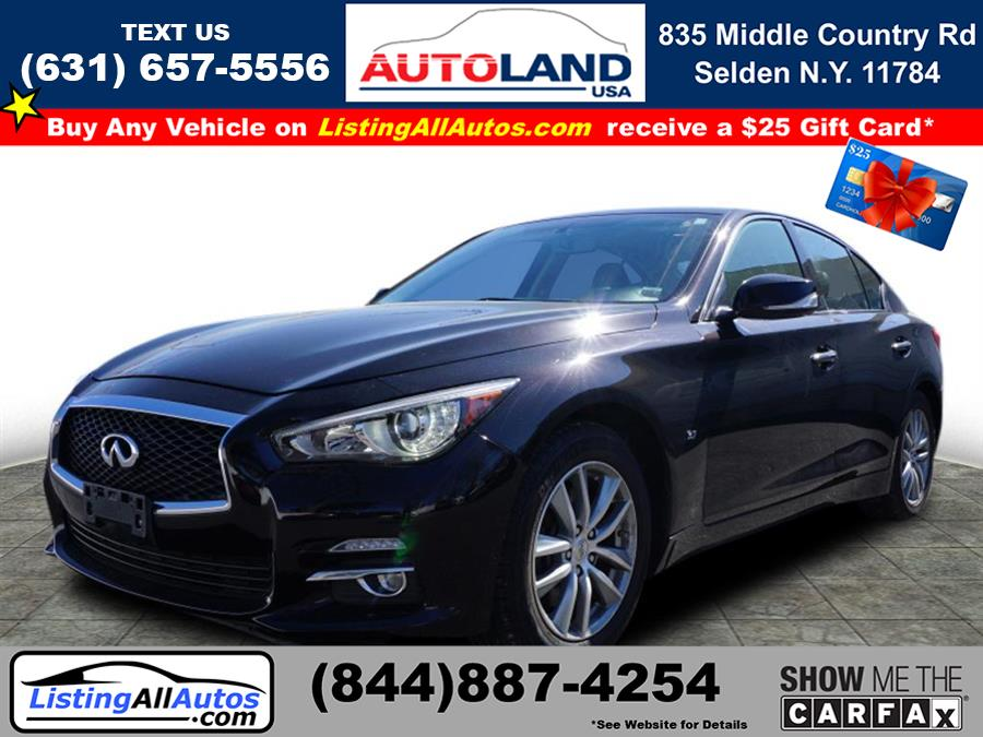 Used 2014 Infiniti Q50 in Patchogue, New York | www.ListingAllAutos.com. Patchogue, New York