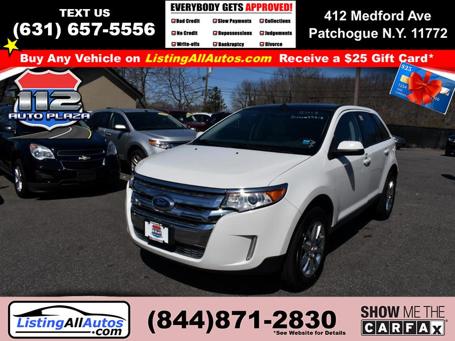 Used 2013 Ford Edge in Patchogue, New York | www.ListingAllAutos.com. Patchogue, New York