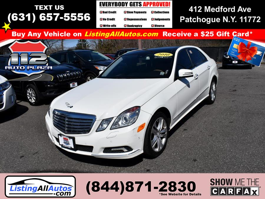 Used 2010 Mercedes-benz E-class in Patchogue, New York | www.ListingAllAutos.com. Patchogue, New York